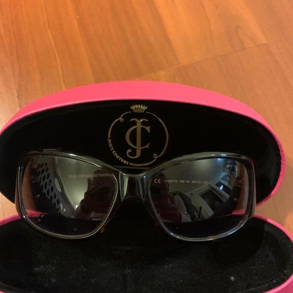 Juicy Couture sunglasses with original case